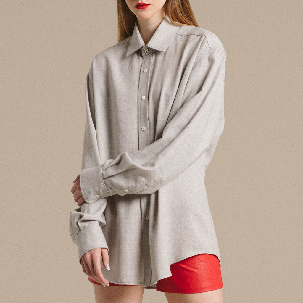 Nancy Lord Cashmere Cotton Shirt
