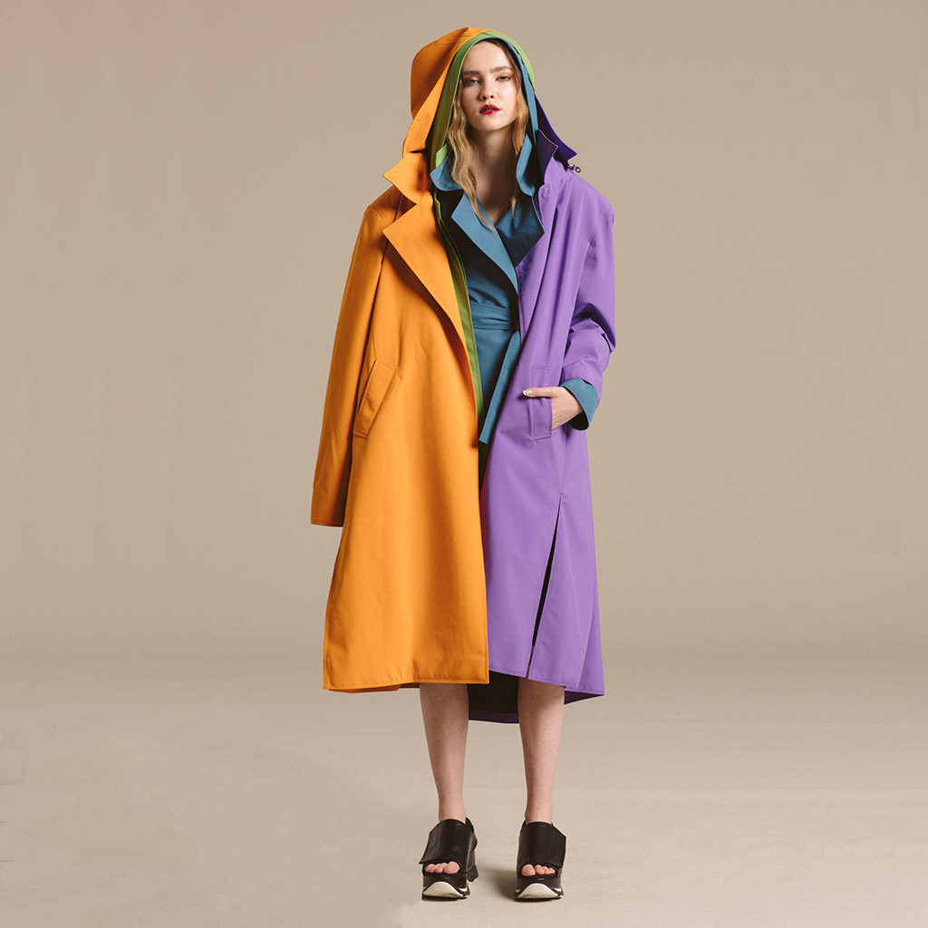 Nancy Lord Waterproof Trench (Long)