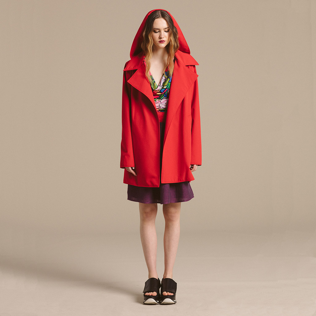 Nancy Lord Waterproof Trench (Short)
