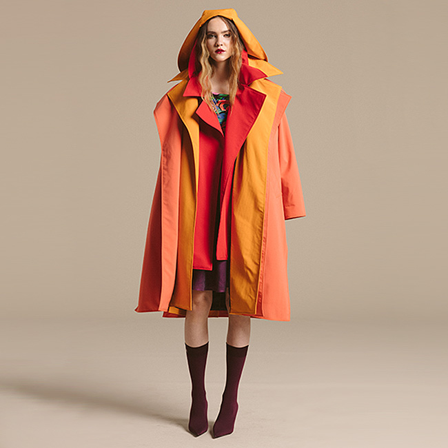 Nancy Lord Waterproof Trench